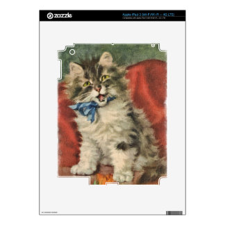 Cute Kitty Skins For iPad 3