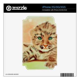 CUTE KITTY!!! iPhone 3 SKIN