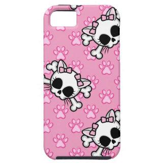 Cute Kitty Skull iPhone 5 Case