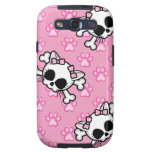 Cute Kitty Skull Galaxy SIII Case