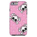Cute Kitty Skull iPhone 6 Case