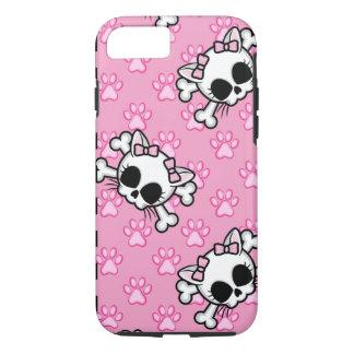 Cute Kitty Skull iPhone 8/7 Case