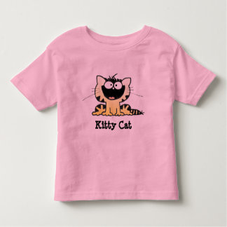 Cute Kitty T Happy Kitty | Cute Cartoon Kitty Tee