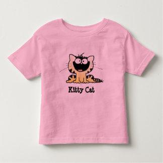 Cute Kitty T Happy Kitty   Cute Cartoon Kitty Tee