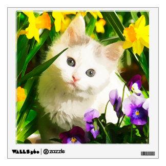 Cute Kitty Wall Decal