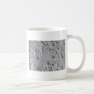 Cute knitted / crocheted doily Star Coffee Mug