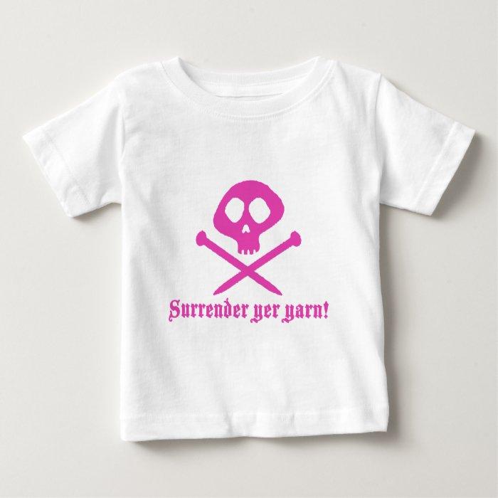Cute Knitting Baby T-Shirt
