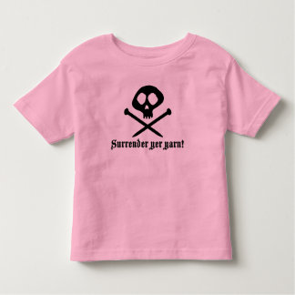 Cute Knitting Toddler T-shirt