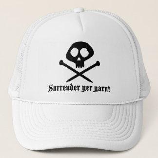Cute Knitting Trucker Hat
