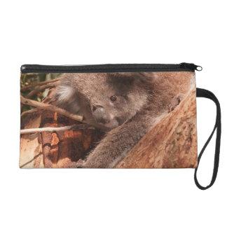 Cute koala 1214 wristlet clutch