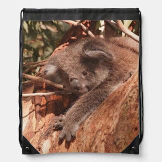 Cute koala 1214 drawstring bag