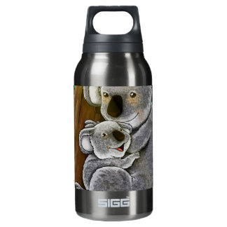 Cute Koala and Baby Insulated Water Bottle