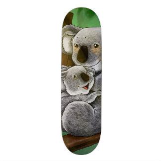 Cute Koala and Baby Skateboard Deck