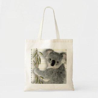 Cute Koala Canvas Bags