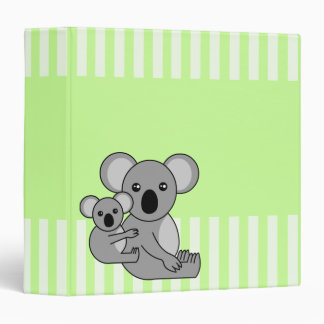 Cute Koala Bear and Baby Binder / Scrapbook