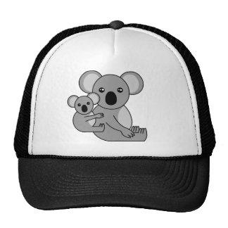 Cute Koala Bear and Baby Trucker Hat