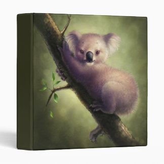Cute Koala Bear Binder