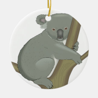 Cute Koala Bear Destiny Nature Aussi Outback Christmas Ornaments