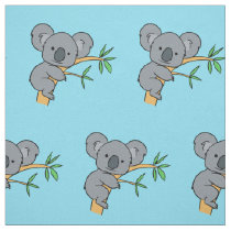 Cute Koala Bear Fabric