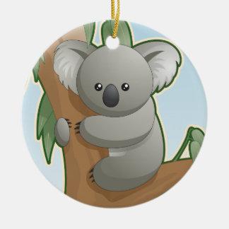 Cute Koala Bear Ornament