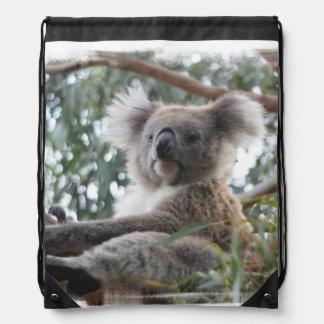 Cute Koala Bear Drawstring Bags