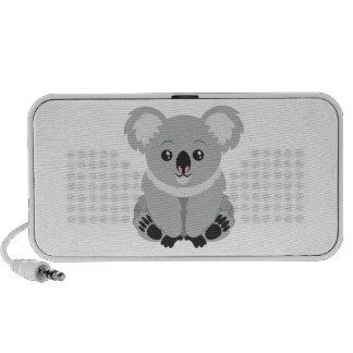Cute Koala Bear Laptop Speakers