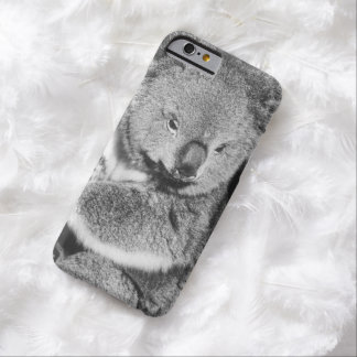 Cute Koala Bear Wild Animal Black White Marsupial Barely There iPhone 6 Case
