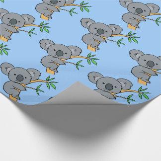Cute Koala Bear Wrapping Paper