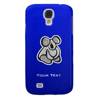 Cute Koala; Blue Samsung Galaxy S4 Cover