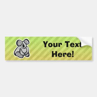 Cute Koala Design Bumper Stickers