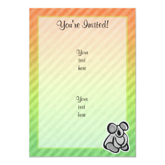 Cute Koala Design Card