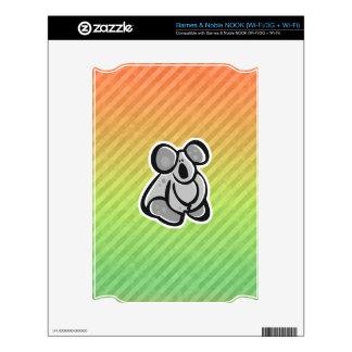 Cute Koala Design Skin For NOOK