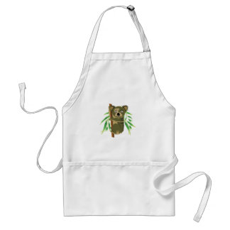 Cute Koala in Tree Aprons