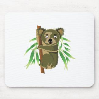 Cute Koala in Tree Mouse Pad