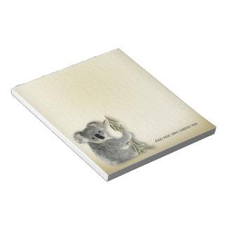 Cute Koala Note Pad