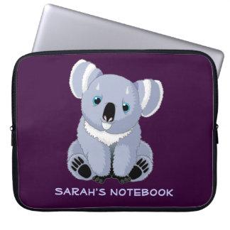 Cute Koala Personalized Electronics Bag Computer Sleeves