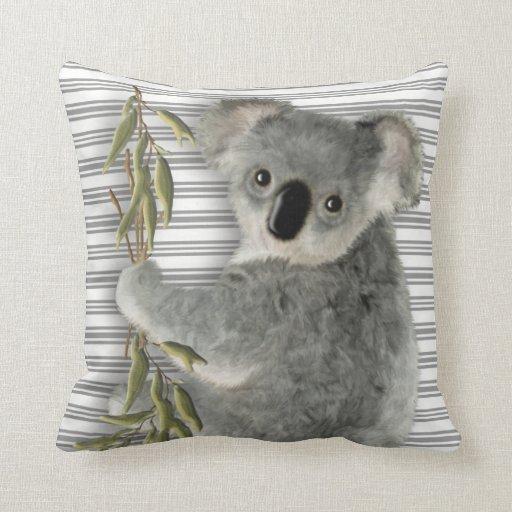 Cute Koala Throw Pillows