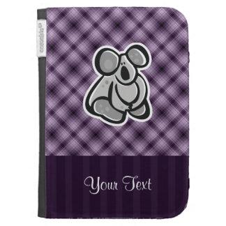 Cute Koala; Purple Kindle Keyboard Cases