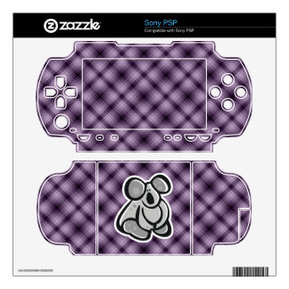 Cute Koala; Purple Skin For The PSP