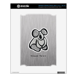 Cute Koala Silver Decal For The NOOK