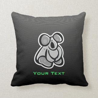 Cute Koala; Sleek Throw Pillow