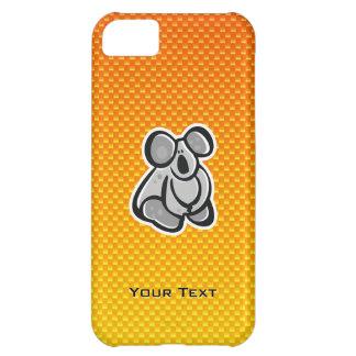 Cute Koala; Yellow Orange iPhone 5C Case
