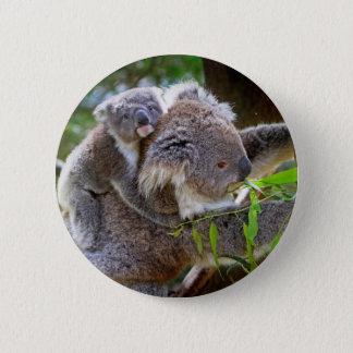 Cute Koalas Button
