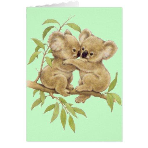 Cute Koalas Card