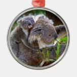 Cute Koalas Christmas Ornament