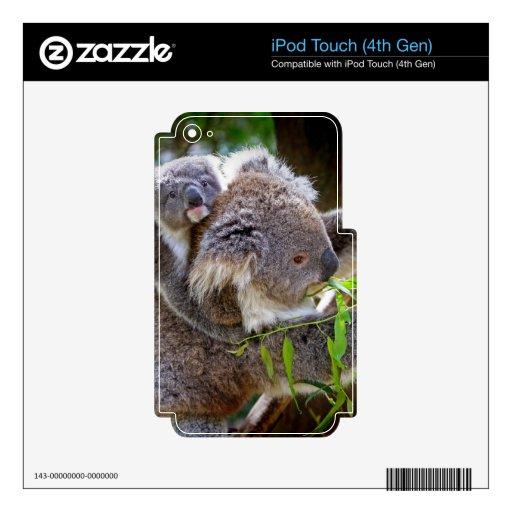 Cute Koalas iPod Touch 4G Skin