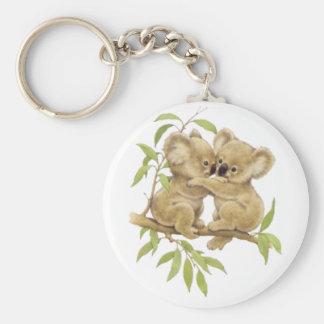 Cute Koalas Keychain