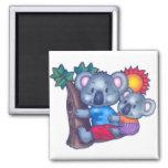Cute Koalas Magnet