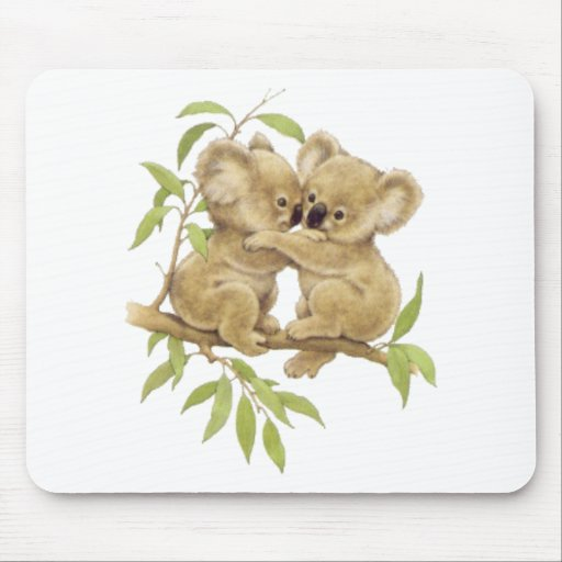 Cute Koalas Mousepads