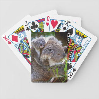 Cute Koalas Bicycle Playing Cards